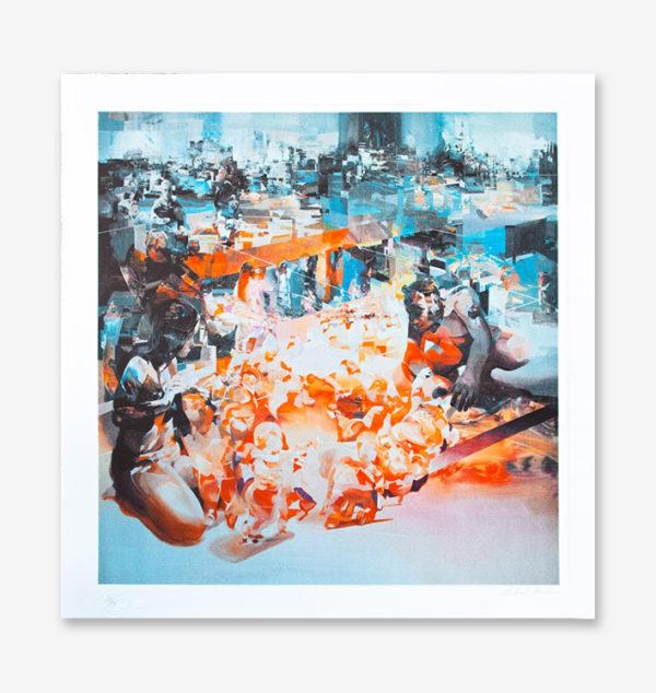 falling-circle-robert-proch-print-them-all-lithograph
