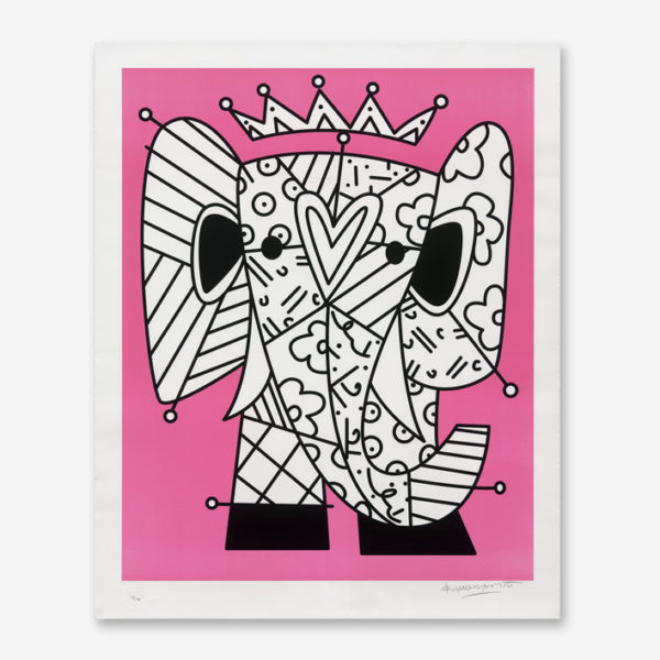 the-pink-elephant-romero-britto-print-them-all-lithograph