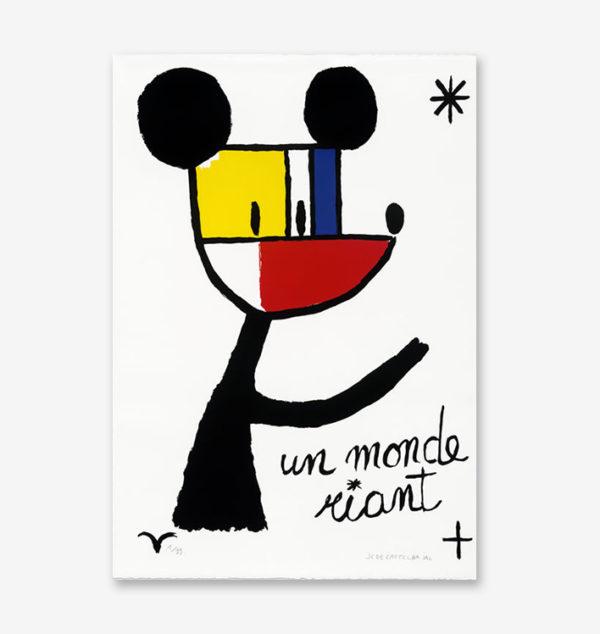 un-monde-riant-jean-charles-de-castelbajac-print-them-all-lithograph