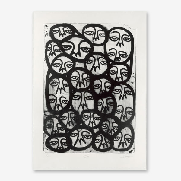 voila-black-edition-harif-guzman-print-them-all-lithograph