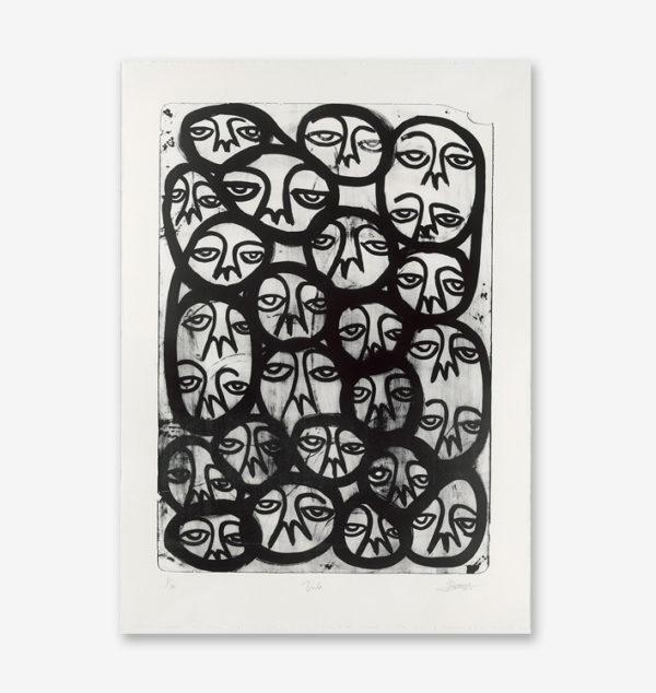 voila-black-edition-harif-guzman-print-them-all-lithograph