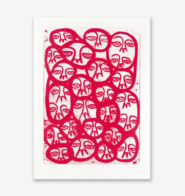 voila-red-edition-harif-guzman-print-them-all-lithograph