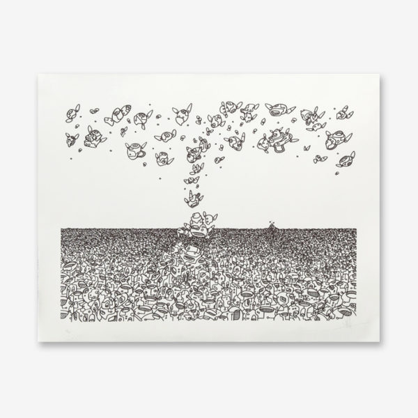 ligne-d-horizon-mehdi-cibille-print-them-all-lithograph