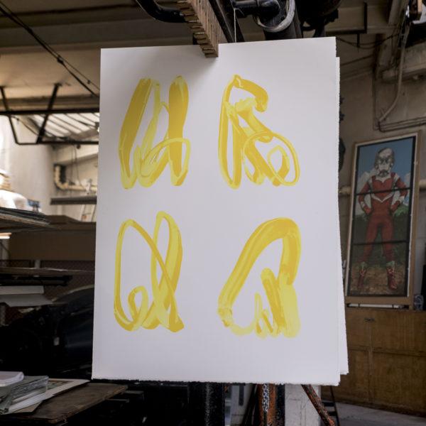 Yellow Hand-1107