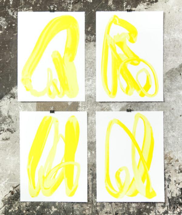 Yellow Hand-1108