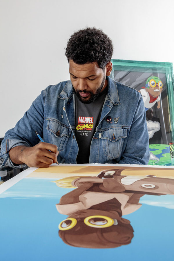 hebru-brantley-boy-on-rocket-print-them-all-chicago-artist