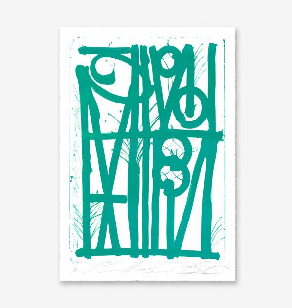ludavico-and ludovico-turquoise-edition-retna-print-them-all-lithograph