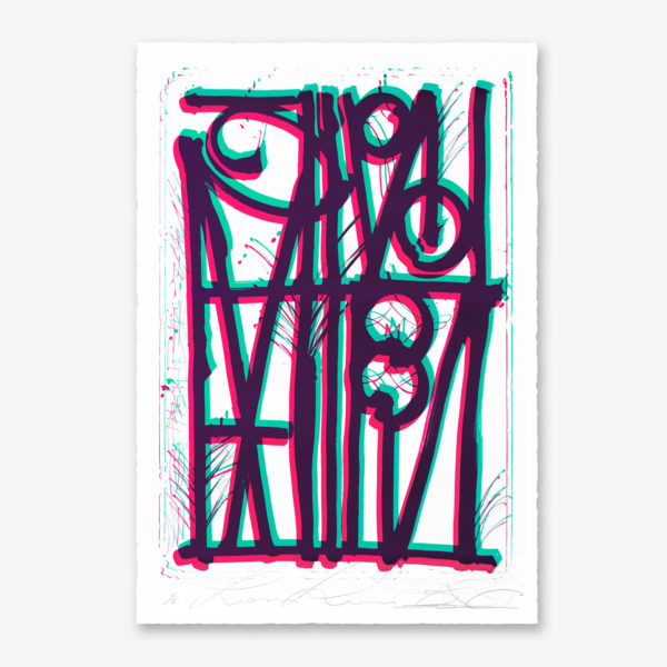 ludavico-and-ludovico-turquoise-pink-edition-retna-print-them-all-lithograph