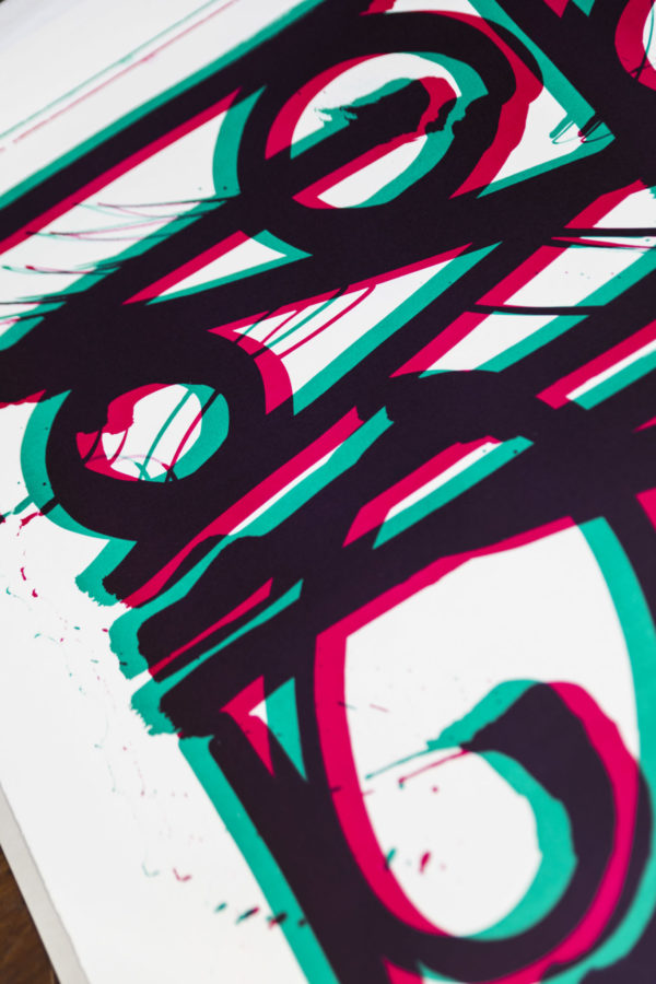 ludavico-and-ludovico-turquoise-pink-edition-retna-print-them-all-lithograph-on-stone-detail-contemporary-art