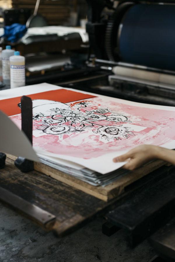 marilyn-van-gogh-sun-flowers-pink-edition-anthony-lister-print-them-all-printing-process-paris