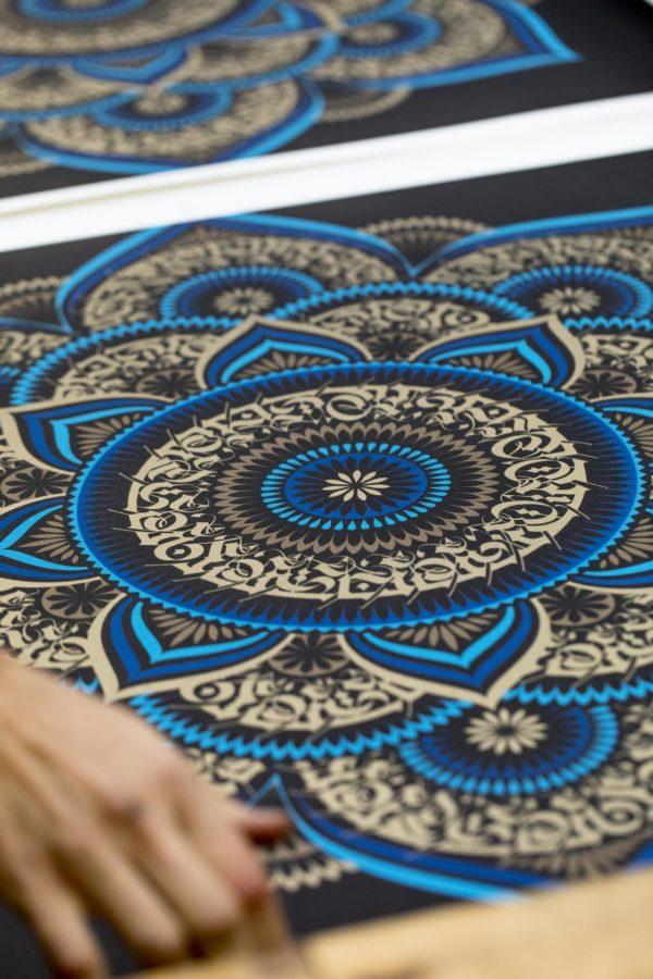 blue-lotus-cryptik-print-them-all-lithograph-mantradala-art