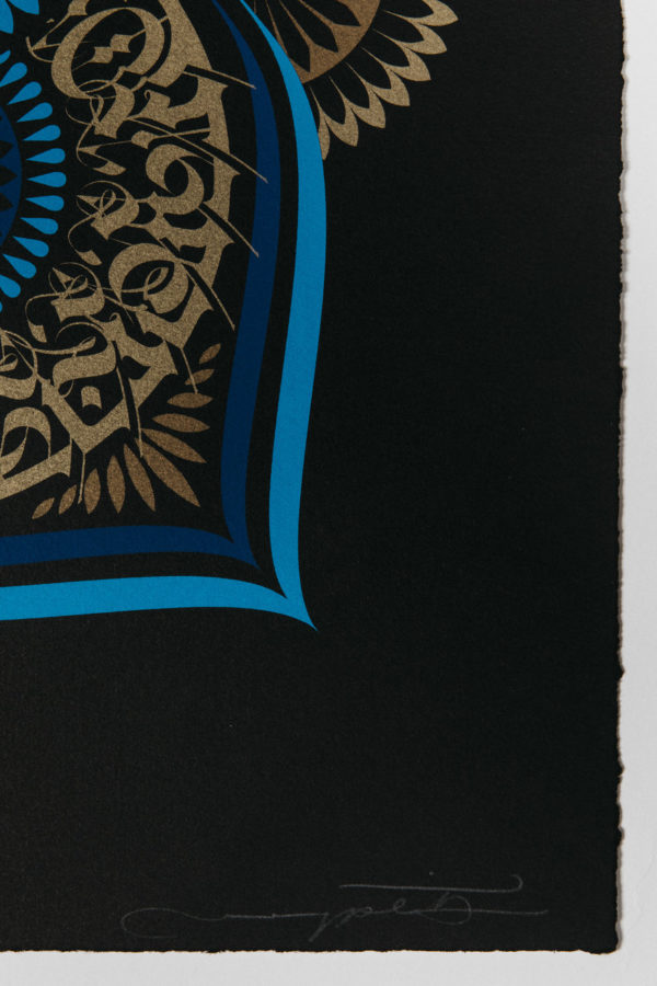 blue-lotus-cryptik-print-them-all-lithograph-mantradala-art-signature