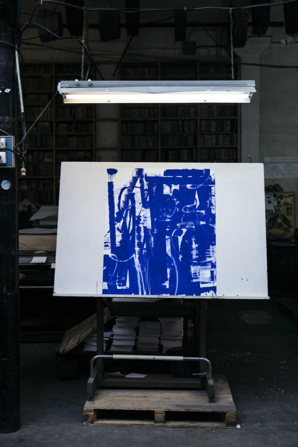 lasting-blue-edition-zes-print-them-all-lithograph-presentation-printing-house-paris