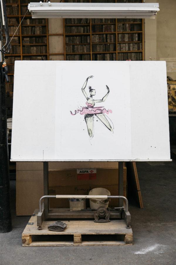 prima-ballerina-anthony-lister-lithograph-print-them-all-presentation-printing-house-urban-art
