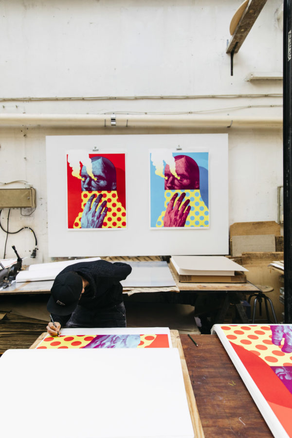 last-gasp-red-edition-michael-reeder-print-them-all-lithograph-signature-process