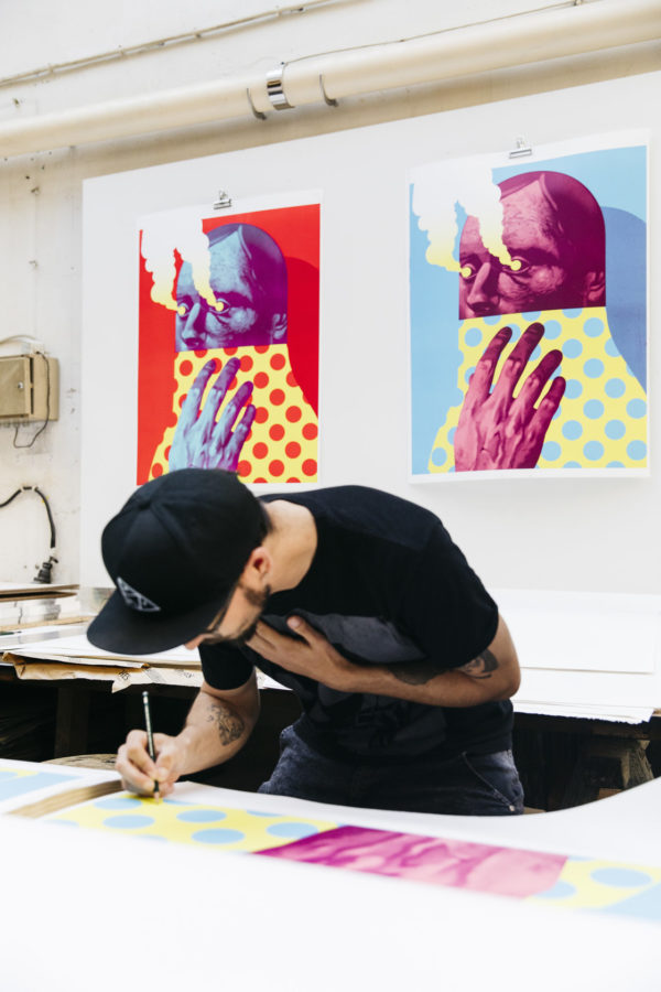 last-gasp-editions-lithograph-michael-reeder-print-them-all-signature-process