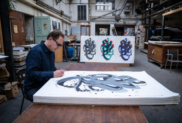 unambidextrous-black-metallic-grey-niels-shoe-meulman-print-them-all-signing-lithographs-calligraffiti