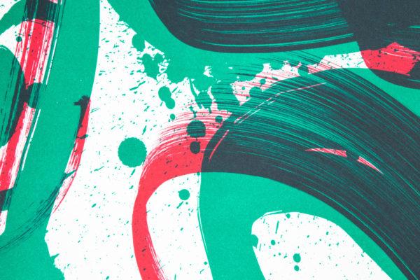 unambidextrous-green-red-niels-shoe-meulman-print-them-all-lithograph-on-stone-detail-art-print-paris