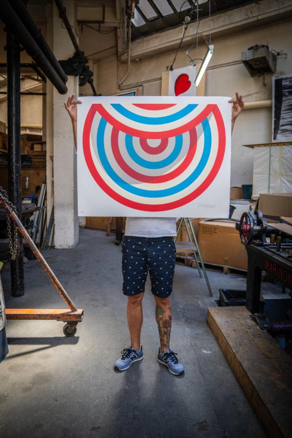 lazy-target-tavar-zawacki-print-them-all-lithograph-presentation-publishing-house-urban-art-paris