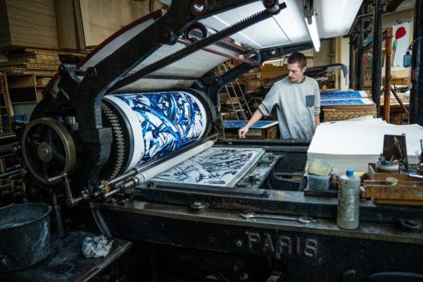 meguru-yamaguchi-lithograph-print-them-all-printing-process-limited-edition-artprint-paris