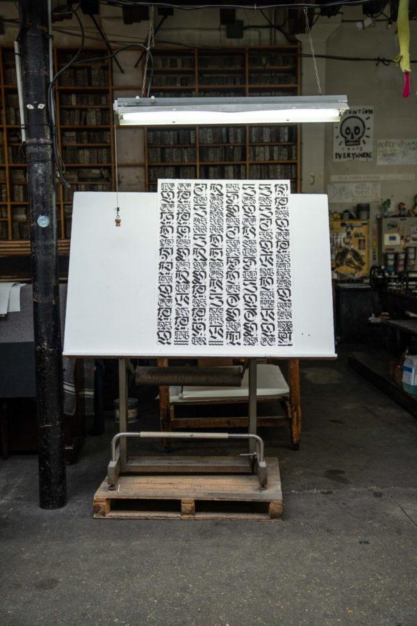 the-divine-letter-white-edition-cryptik-print-them-all-lithograph-calligraffiti-publishing-house-art-paris