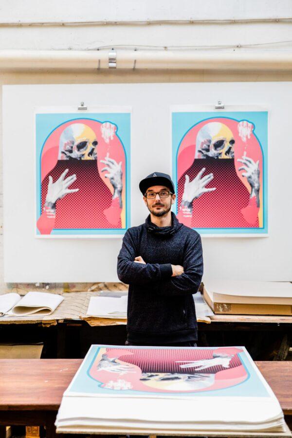 eternal-paradise-michael-reeder-lithograph-print-them-all-contemporary-artist-paris